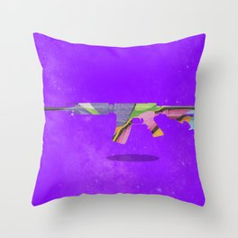 Less War More Art Throw Pillow