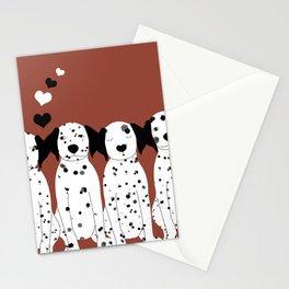 Dalmatas Stationery Cards