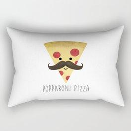 Popparoni Pizza Rectangular Pillow