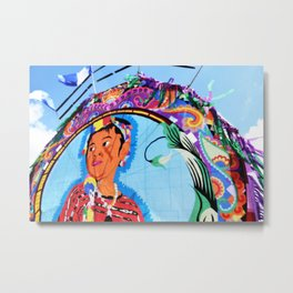 Guatemala - Flying Kite Metal Print