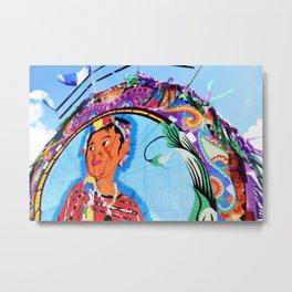 Guatemala - Flying Kite Metal Print