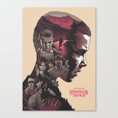 Stranger Things - Poster V2 Canvas Print