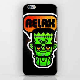 Frankie Says Relax iPhone Skin