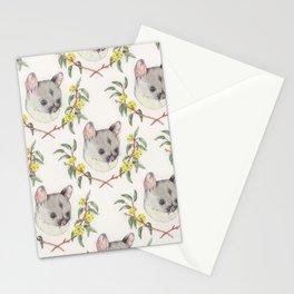 Possum and Eucalypt Stationery Cards