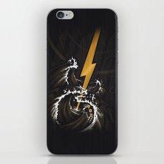 Electric Guitar Storm iPhone & iPod Skin