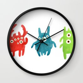 Litte creatures 1 Wall Clock