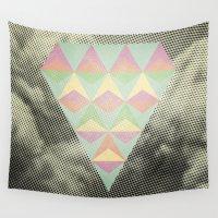 diamond Wall Tapestries featuring Diamond by Metron