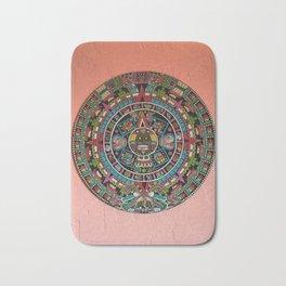 Mayan Calendar Bath Mat