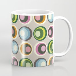 Retro midcentury geometric: Suture Coffee Mug