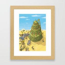 Desert Tart Framed Art Print