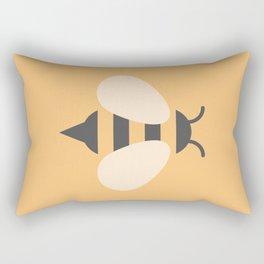 #81 Bee Rectangular Pillow