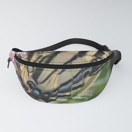 Western Tiger Swallowtail on Lemon Blossoms Fanny Pack