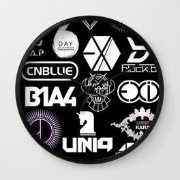 BTS kpop Wall Clock