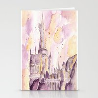 hogwarts Stationery Cards featuring hogwarts by impalei