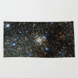 Hubble Peers into the Most Crowded Place in the Milky Way Beach Towel