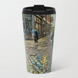 Step Arrows Travel Mug