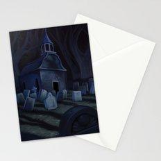Sleepy Hollow Churchyard Cemetery  Stationery Cards