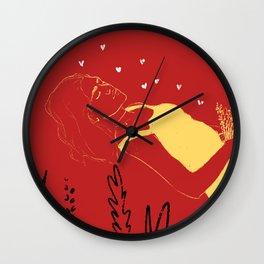 ... love dreaming ... Wall Clock