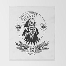 Garden Reaper Throw Blanket