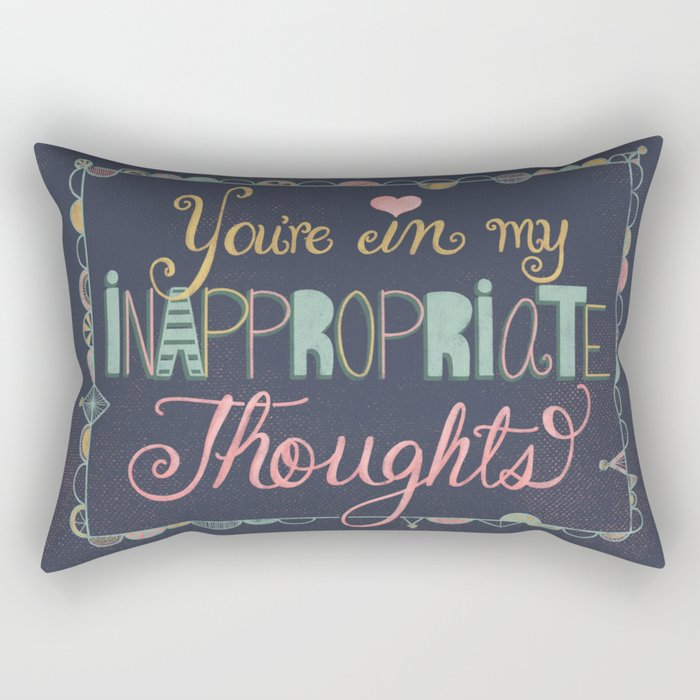 Youre In My Inappropriate Thoughts Art Print Naughty Humor