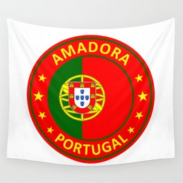 Amadora, Portugal Wall Tapestry