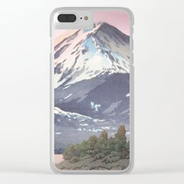 The Kawaguchi Trail Clear iPhone Case