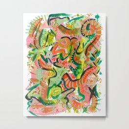 Acrylic Painting - Abstract 4 Metal Print
