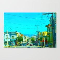 San Francisco Union St. Canvas Print