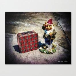 Gnome Schooled Canvas Print