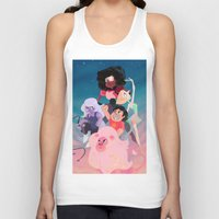 steven universe Tank Tops featuring Steven Universe by Taylor Barron