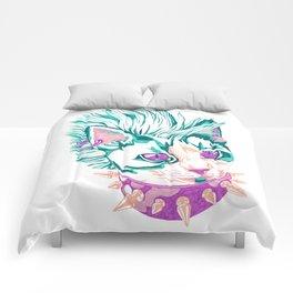 Punk Cat Comforters