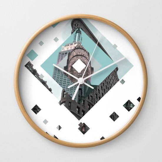 New York City Diamonds Wall Clock