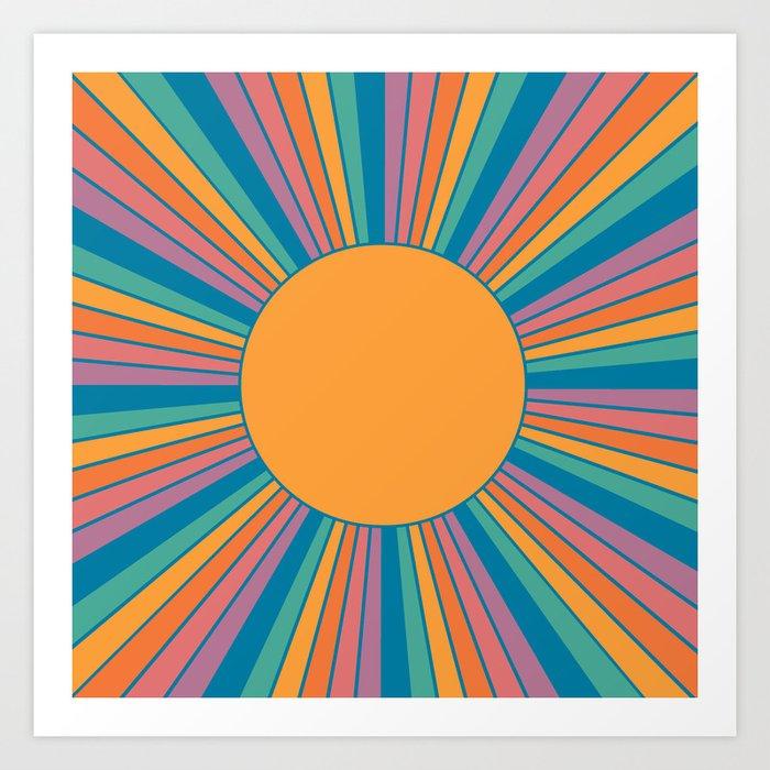 Sunshine State Art Print