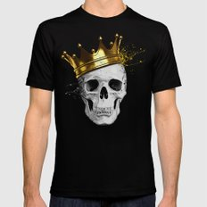 Royal Skull LARGE Mens Fitted Tee Black