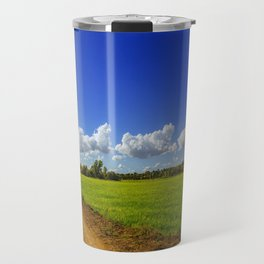 Rice Field Travel Mug