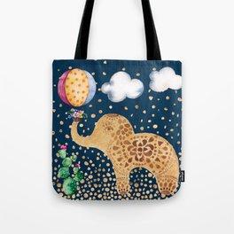 Elephant Play Tote Bag