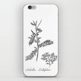 Yarrow Botanical Illustration iPhone Skin