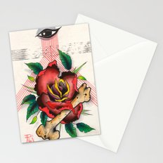 The Eye, The Rose, The Bone Stationery Cards