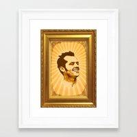 jack nicholson Framed Art Prints featuring Nicholson by Durro