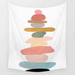 Balancing Stones 22 Wall Tapestry