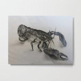 Lobsta Metal Print