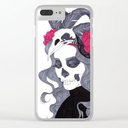 Queen of Sorrow Clear iPhone Case