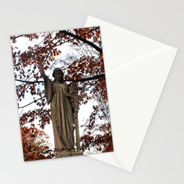 My Lady Among the Leaves Stationery Cards