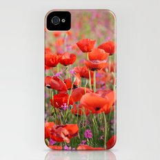 Poppies in Spring Slim Case iPhone (4, 4s)