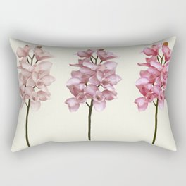 Three tones orchids Rectangular Pillow