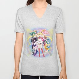 Sailor Moon Crystal Season 3 Unisex V-Neck