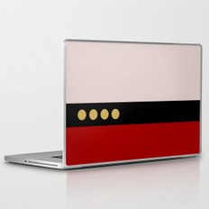 Picard -Minimalist Star Trek TNG The Next Generation  Captain Jean Luc Picard startrek Trektangles Laptop & iPad Skin