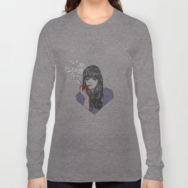 Mia Corvere - Nevernight by Jay Kristoff Long Sleeve T-shirt