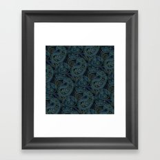 Paisley and Undines Framed Art Print