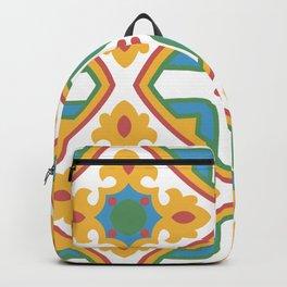 Mediterranean Patterns Backpack